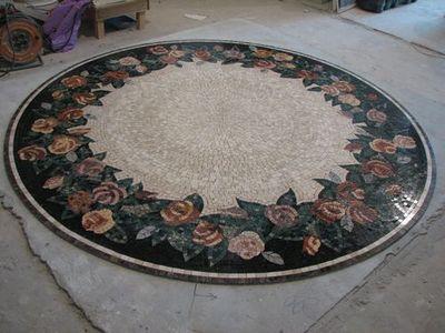 мозаика пол